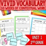 Vocabulary Companion for Second Grade: Unit 1