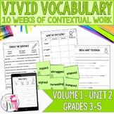 Vocabulary Companion to Volume 1: Unit 2 (grades 3-5)