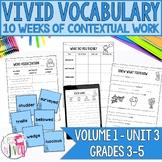 Vocabulary Companion to Volume 1: Unit 3 (grades 3-5)