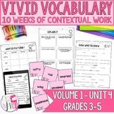 Vocabulary Companion to Volume 1: Unit 4 (grades 3-5)