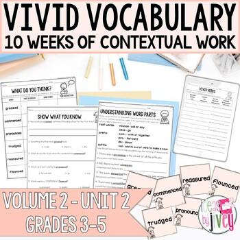 Vocabulary Companion to Volume 2: Unit 2 (grades 3-5)