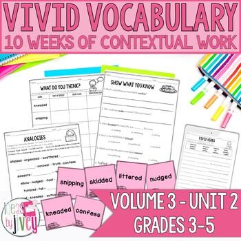 Vocabulary Companion to Volume 3: Unit 2 (grades 3-5)