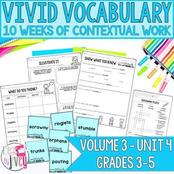 Vocabulary Companion to Volume 3: Unit 4 (grades 3-5)