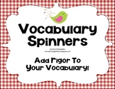Vocabulary Comprehension Center Common Core Aligned ELA L.3.6, L.4.6, L.5.6