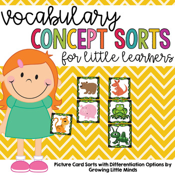 Vocabulary Concept Sorts