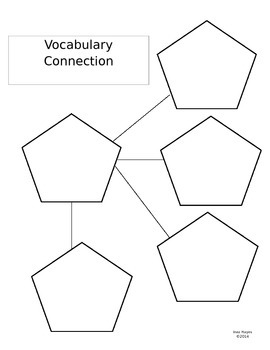 Vocabulary Connection Graphic Organizer