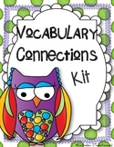 Vocabulary Connections for Reading Comprehension * Centers * Printables