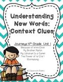 Vocabulary Context Clues: Journeys 4th Grade, Unit 1
