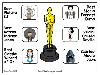 Vocabulary & Context Clues: Movie Theme