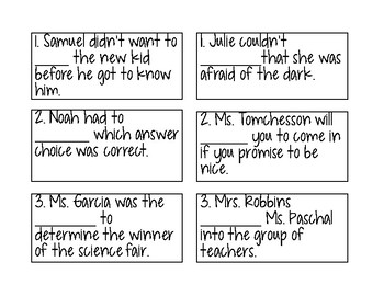 Vocabulary/Context Clues Practice - Dictionary Entry Mix Up Match Up