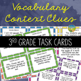 3rd Grade Context Clues Task Cards
