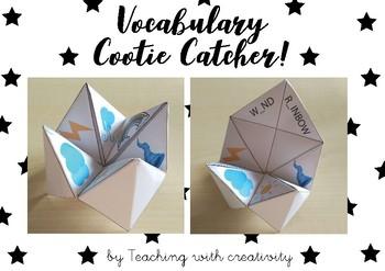 Vocabulary Cootie Catcher