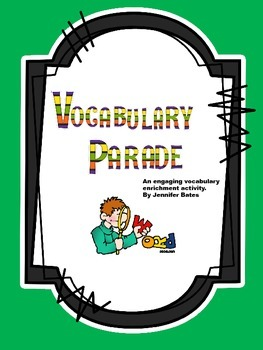 Vocabulary Costume Parade