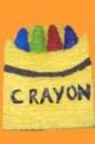Vocabulary Crayons with Box SPANISH