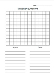 Vocabulary Crossword Template