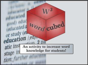 Vocabulary Cubed - Thrill
