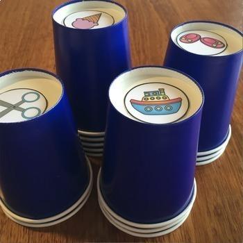 Building Vocabulary - Vocabulary Cups