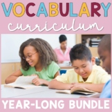 Vocabulary Curriculum   4th and 5th Grade   YEAR-LONG BUNDLE