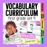 Vocabulary Curriculum First Grade Set 4