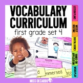 Vocabulary Curriculum First Grade Set 4
