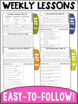Vocabulary Curriculum Grade 3- Set Three