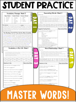 Vocabulary Curriculum Grade 4: A FREE Week!