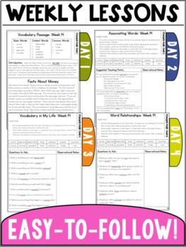 Vocabulary Curriculum Grade 4- Set Two