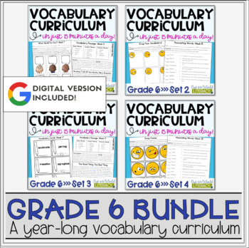 Vocabulary Curriculum Grade 6