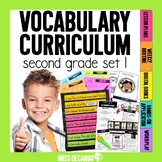 Vocabulary Curriculum Second Grade Set 1
