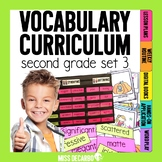 Vocabulary Curriculum Second Grade Set 3