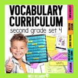 Vocabulary Curriculum Second Grade Set 4
