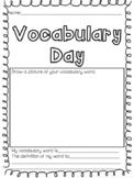 Vocabulary Day