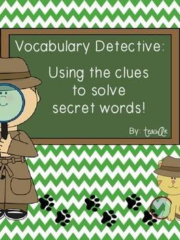 Vocabulary Detective