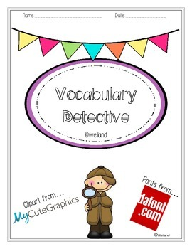 Vocabulary Detective: Vocabulary Interventions