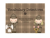 Vocabulary Detectives and the Case of the Missing States of Matter Vocabulary