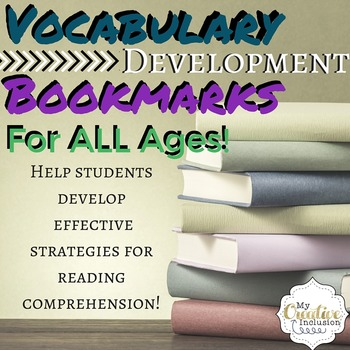 Vocabulary Development Bookmarks