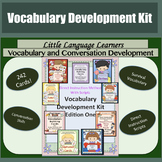 Vocabulary/Conversation Development Kit - for Early Primary and ESL Activity