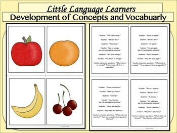Vocabulary/Conversation Development Kit - for Early Primary + Special Education