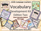 ESL Newcomers: Vocabulary/Conversation Development Kit Set 2