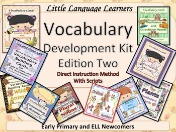 ESL Newcomers: Vocabulary/Conversation Development Kit Set 2