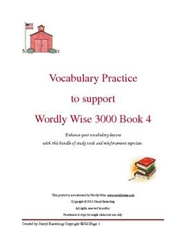 Vocabulary Development Resource Packet