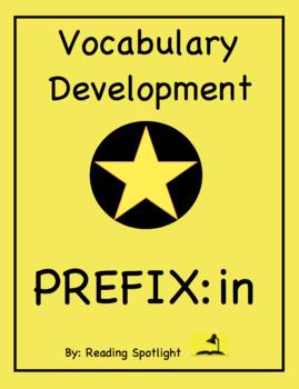 Vocabulary Development: The Prefix--IN