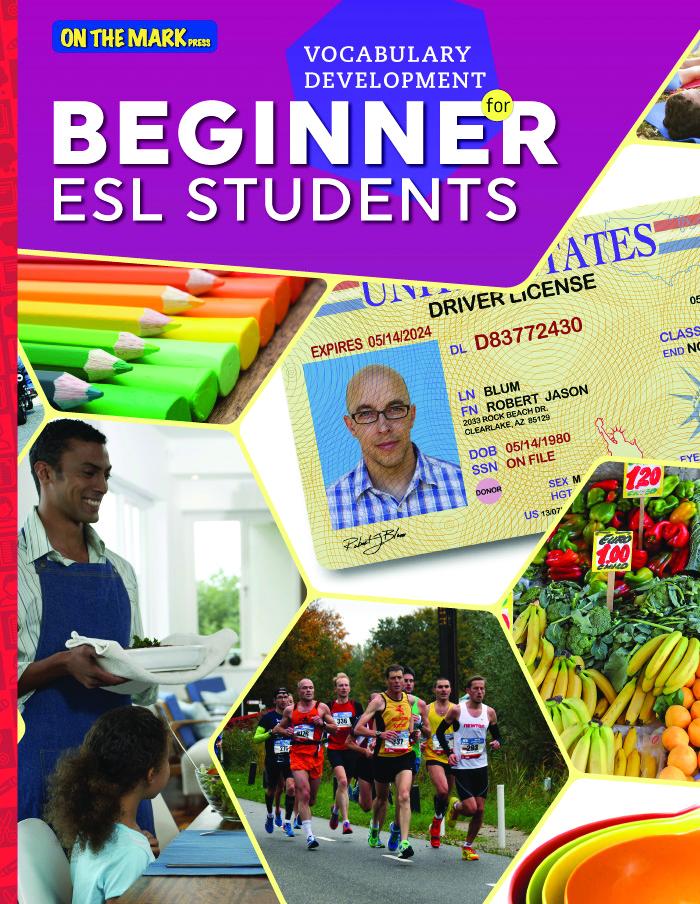 Vocabulary Development for Beginner ESL Students (Enhanced eBook)