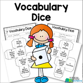 Vocabulary Cubes {Dice} for Vocabulary Review