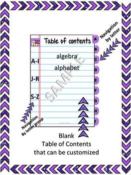 Vocabulary Digital Interactive Notebook (DINB) Google Slides Template – editable