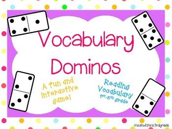 Vocabulary Dominoes