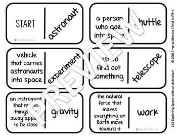 Vocabulary Dominoes CENTER - Reading Street Grade 2 Unit 1