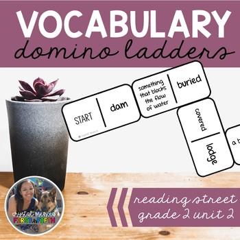 Vocabulary Dominoes CENTER - Reading Street Grade 2 Unit 2