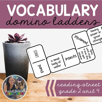 Vocabulary Dominoes CENTER - Grade 2 Unit 4