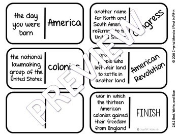 Vocabulary Dominoes CENTER - Reading Street Grade 2 Unit 6